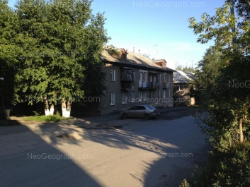 View to: Polzunova street, 13; Polzunova street, 15. Yekaterinburg (Sverdlovskaya oblast)