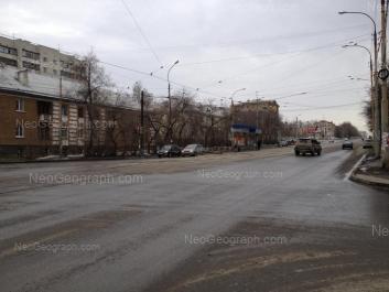 View to: Baumana street, 28; Starikh Bolshevikov street, 18; Starikh Bolshevikov street, 24; Starikh Bolshevikov street, 26; Starikh Bolshevikov street, 28; Entusiastov street, 26. Yekaterinburg (Sverdlovskaya oblast)