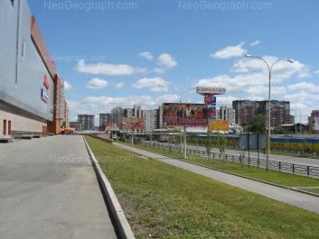 View to: Bebeliya street, 126; Opalihinskaya street, 31; Khalturina street, 44А; Khalturina street, 55 (Карнавал, ТРЦ). Yekaterinburg (Sverdlovskaya oblast)