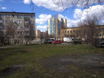 View to: Borovaya street, 22; Danily Zvereva street, 9; Danily Zvereva street, 9А; Sulimova street, 4. Yekaterinburg (Sverdlovskaya oblast)