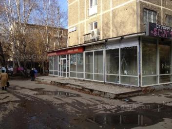 View to: Malisheva street, 111Б; Malisheva street, 111. Yekaterinburg (Sverdlovskaya oblast)