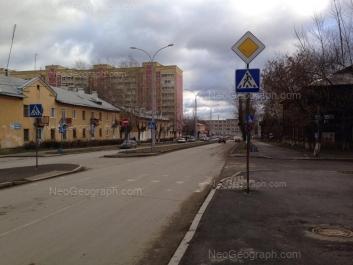 View to: Latviiskaya street, 10; Latviiskaya street, 12; Pribaltiyskaya street, 11. Yekaterinburg (Sverdlovskaya oblast)