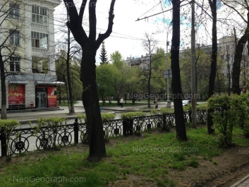 View to: Lenina avenue, 54/1; Lenina avenue, 56. Yekaterinburg (Sverdlovskaya oblast)