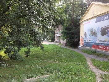 На фото видно: Баумана улица, 37; Шефская улица, 20. Екатеринбург (Свердловская область)