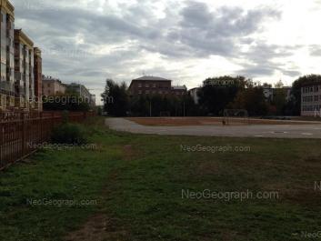 На фото видно: Заводская улица, 32/4; Заводская улица, 34; Заводская улица, 36/2. Екатеринбург (Свердловская область)