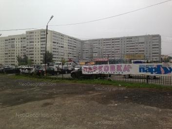 На фото видно: Красных Командиров улица, 3; Стачек улица, 55. Екатеринбург (Свердловская область)