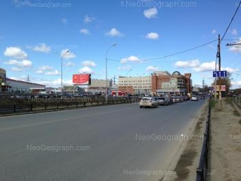 View to: Minometchikov street, 1; Minometchikov street, 3 (ТГЦ Ханой); Olkhovskaya street, 2; Tekhnicheskaya street, 19 (Таганский ряд, ТК). Yekaterinburg (Sverdlovskaya oblast)