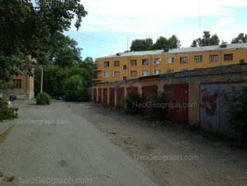 View to: Ordzhonikidze avenue, 6А; Iliicha street, 7. Yekaterinburg (Sverdlovskaya oblast)