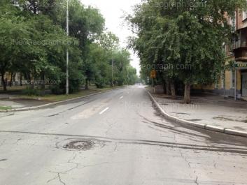 View to: Kirovgradskaya street, 35; Kirovgradskaya street, 62. Yekaterinburg (Sverdlovskaya oblast)