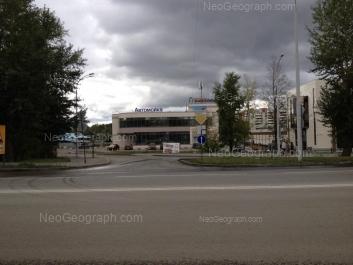 View to: Khasanoskaya street, 2. Yekaterinburg (Sverdlovskaya oblast)