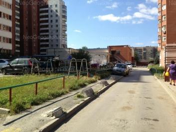 View to: Aptekarskaya street, 45; Aptekarskaya street, 47А. Yekaterinburg (Sverdlovskaya oblast)