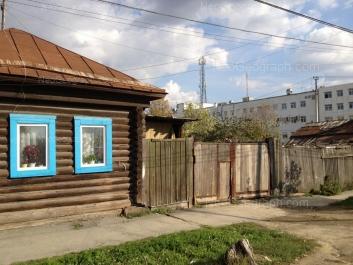 View to: Aivazovskogo street, 43. Yekaterinburg (Sverdlovskaya oblast)
