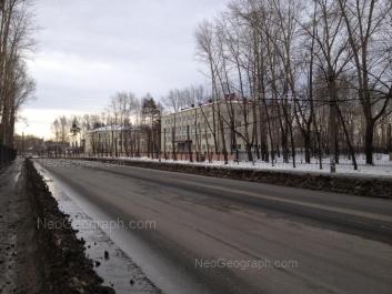 На фото видно: Техническая улица, 87; Техническая улица, 89. Екатеринбург (Свердловская область)