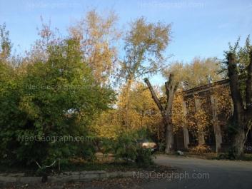 View to: XXII partsiezda street, 10; XXII partsiezda street, 12. Yekaterinburg (Sverdlovskaya oblast)