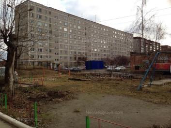 View to: Pribaltiyskaya street, 31 к1; Pribaltiyskaya street, 33. Yekaterinburg (Sverdlovskaya oblast)