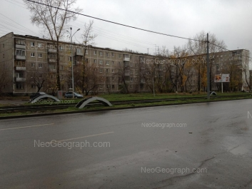 View to: Uralskaya street, 50; Uralskaya street, 52/1. Yekaterinburg (Sverdlovskaya oblast)