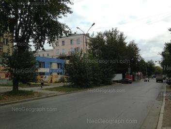 View to: Voennaya street, 2А; Voennaya street, 2. Yekaterinburg (Sverdlovskaya oblast)