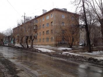 View to: Kalinovskiy lane, 13; Stachek street, 3; Stachek street, 5. Yekaterinburg (Sverdlovskaya oblast)