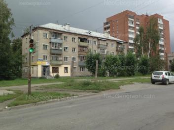 На фото видно: Агрономическая улица, 10; Агрономическая улица, 12. Екатеринбург (Свердловская область)