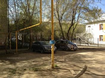 На фото видно: Малышева улица, 85; Мичурина улица, 100А (Детский сад №330). Екатеринбург (Свердловская область)