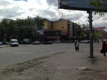 На фото видно: Восточная улица, 50; Первомайская улица, 56; Первомайская улица, 58; Первомайская улица, 62. Екатеринбург (Свердловская область)