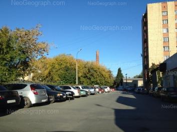 View to: Sibirskiy trakt street, 35б (УГЛТУ, общежитие №8); Sibirskiy trakt street, 37. Yekaterinburg (Sverdlovskaya oblast)