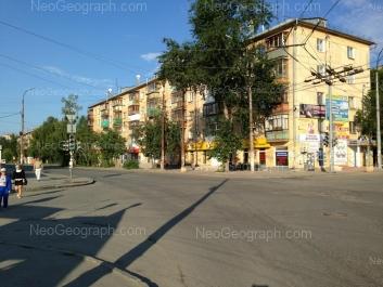 View to: Vosstaniya street, 5. Yekaterinburg (Sverdlovskaya oblast)