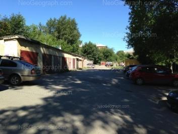 На фото видно: 40-летия Октября улица, 38; Кировградская улица, 21. Екатеринбург (Свердловская область)