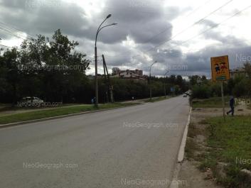 View to: Ferganskaya street, 22 (Школа №87). Yekaterinburg (Sverdlovskaya oblast)