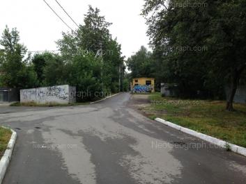View to: Kirovgradskaya street, 66 (Школа №103, Гимназия №205). Yekaterinburg (Sverdlovskaya oblast)