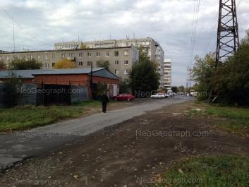 View to: Tatischeva street, 123А. Yekaterinburg (Sverdlovskaya oblast)
