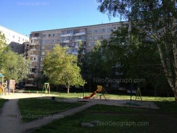 View to: Chkalova street, 127; Chkalova street, 129. Yekaterinburg (Sverdlovskaya oblast)