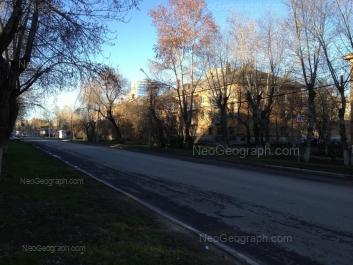 View to: Danily Zvereva street, 17; Danily Zvereva street, 19. Yekaterinburg (Sverdlovskaya oblast)