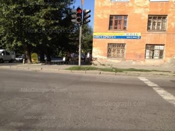 View to: Azina street, 18; Azina street, 21; Mamina-Sibiriaka street, 4. Yekaterinburg (Sverdlovskaya oblast)