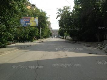 View to: Volodarskogo lane, 4. Yekaterinburg (Sverdlovskaya oblast)