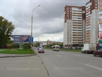 View to: Uchiteley street, 14; Uchiteley street, 18. Yekaterinburg (Sverdlovskaya oblast)