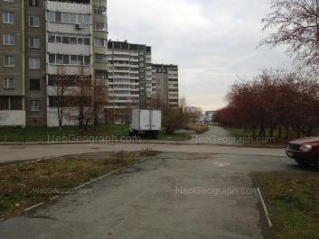 View to: Krestinskogo street, 53; Krestinskogo street, 55 к1; Krestinskogo street, 55 к1. Yekaterinburg (Sverdlovskaya oblast)