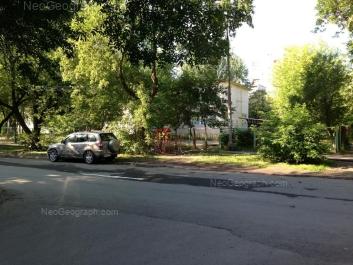 View to: Izbirateley street, 11 (Детский сад №406). Yekaterinburg (Sverdlovskaya oblast)