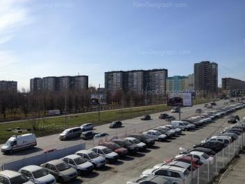 View to: Sedova avenue, 17/1; Sedova avenue, 17/2; Sedova avenue, 17; Sedova avenue, 26; Sedova avenue, 26/2; Sedova avenue, 26/3; Tavatuiskaya street, 1В; Tavatuiskaya street, 1Б; Tavatuiskaya street, 1д; Tekhnicheskaya street, 22/3; Tekhnicheskaya street, 24. Yekaterinburg (Sverdlovskaya oblast)