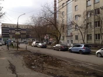 View to: Malisheva street, 101; Malisheva street, 122; Chebisheva street, 2. Yekaterinburg (Sverdlovskaya oblast)