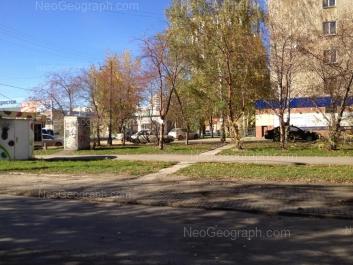 View to: Pobedi street, 94. Yekaterinburg (Sverdlovskaya oblast)
