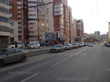 View to: Rodonitovaya street, 4А; Rodonitovaya street, 4; Rodonitovaya street, 10; Rodonitovaya street, 12. Yekaterinburg (Sverdlovskaya oblast)