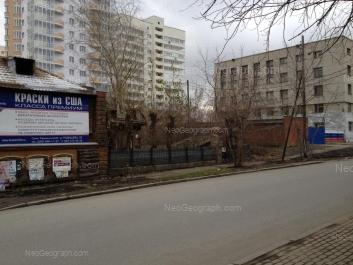 На фото видно: Куйбышева улица, 31; Сакко и Ванцетти улица, 113; Сакко и Ванцетти улица, 119. Екатеринбург (Свердловская область)