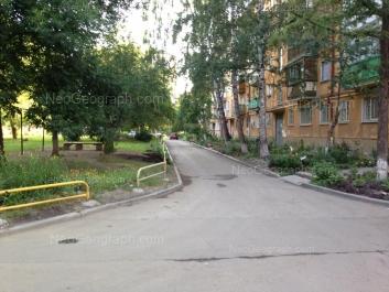 View to: Iliicha street, 52Б. Yekaterinburg (Sverdlovskaya oblast)