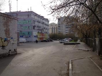 View to: Posadskaya street, 28А (ТЦ Универбыт); Posadskaya street, 28/5; Yasnaya street, 20д. Yekaterinburg (Sverdlovskaya oblast)