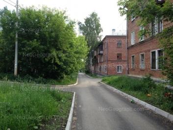 View to: Bakinskikh Komissarov street, 17; Bakinskikh Komissarov street, 21. Yekaterinburg (Sverdlovskaya oblast)