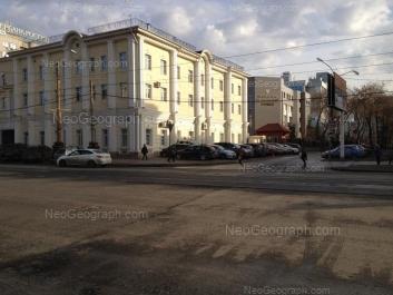 View to: Moskovskaya street, 19; Moskovskaya street, 21. Yekaterinburg (Sverdlovskaya oblast)