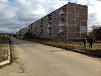 View to: Latviiskaya street, 44. Yekaterinburg (Sverdlovskaya oblast)