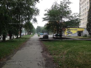 На фото видно: Шефская улица, 93 к1. Екатеринбург (Свердловская область)