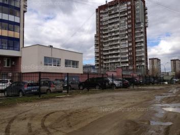 View to: Opalihinskaya street, 20а; Opalihinskaya street, 24; Opalihinskaya street, 30; Opalihinskaya street, 32. Yekaterinburg (Sverdlovskaya oblast)